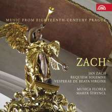 Jan Zach (1699-1773): Requiem solemne c-moll, CD