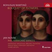 Bohuslav Martinu (1890-1959): Bouquet of Flowers (Liederzyklus für Soli, gemischten Chor, Kinderchor & kleines Orchester), CD