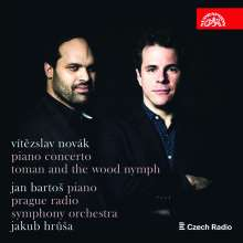 Vitezlav Novak (1870-1949): Klavierkonzert e-moll, CD