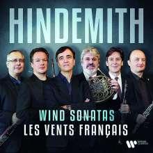 Paul Hindemith (1895-1963): Sonaten für Bläser & Klavier, CD