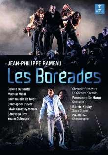 Jean Philippe Rameau (1683-1764): Les Boreades, DVD