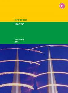 Pet Shop Boys: Discovery (Live in Rio), 1 DVD und 2 CDs