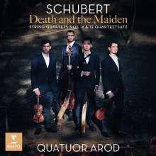 Franz Schubert (1797-1828): Streichquartette Nr.4,12,14, CD