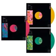 Foals: Collected Reworks (Pink, Yellow & Green Vinyl), 3 LPs