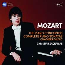 Wolfgang Amadeus Mozart (1756-1791): 23 Klavierkonzerte, 15 CDs