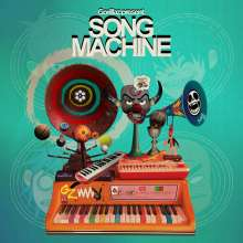 Gorillaz: Song Machine Season One: Strange Timez (Deluxe Edition), 2 LPs und 1 CD