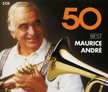 Maurice Andre - 50 Best, 3 CDs