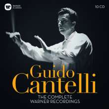 Guido Cantelli - The Complete Warner Recordings, 10 CDs