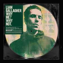 Liam Gallagher: Why Me? Why Not. (Limited Edition) (Picture Disc) (Exklusiv für jpc!), LP