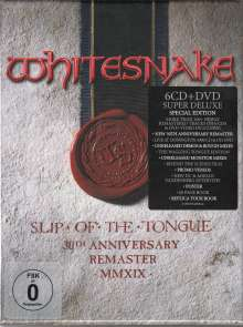 Whitesnake: Slip Of The Tongue (Super Deluxe Edition) (2019 Remaster) (30th Anniversary Edition), 6 CDs und 1 DVD