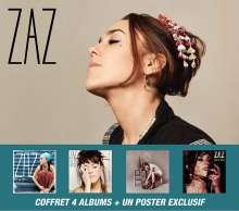 Zaz (Isabelle Geffroy): Box-Set, 5 CDs und 1 DVD