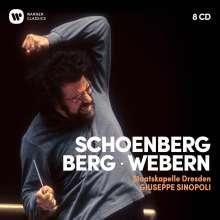 Giuseppe Sinopoli - Schönberg / Berg / Webern, 8 CDs