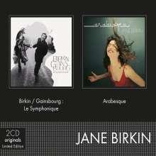 Jane Birkin: 2 Originals (Limited-Edition), 2 CDs
