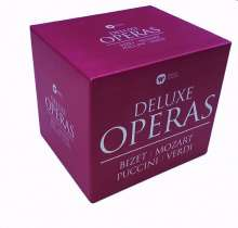 Deluxe Operas - 5 Operngesamtaufnahmen, 12 CDs