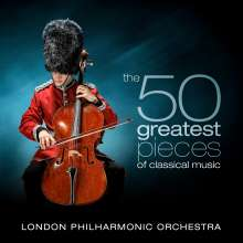 London Philharmonic Orchestra - The 50 Greatest Pieces of Classical Music, 4 CDs