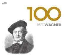 Richard Wagner (1813-1883): Richard Wagner - 100 Best Wagner, 6 CDs