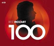 Wolfgang Amadeus Mozart (1756-1791): 100 Best Mozart, 6 CDs