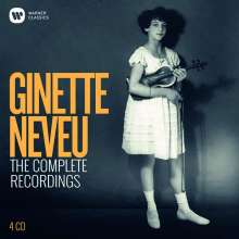 Ginette Neveu - The Complete Recordings, 4 CDs