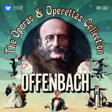 Jacques Offenbach (1819-1880): Jacques Offenbach - The Operas & Operettas Collection, 30 CDs
