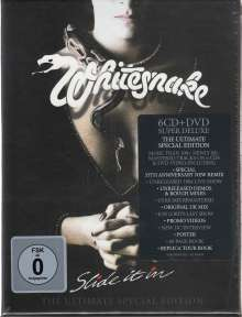 Whitesnake: Slide It In (The Ultimate Special Edition), 6 CDs und 1 DVD