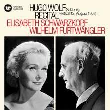 Elisabeth Schwarzkopf & Wilhelm Furtwängler - Hugo Wolf Recital Salzburg 1953, CD