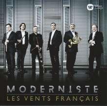 Les Vents Francais - Moderniste, 2 CDs