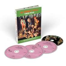 Jethro Tull: This Was (50th Anniversary Edition), 3 CDs und 1 DVD-Audio