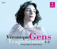 """Veronique Gens - Tragediennes 1-3 """"From Lully to Saint-Saens"""", 3 CDs"""