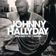Johnny Hallyday: Mon Pays C'Est L'Amour, CD