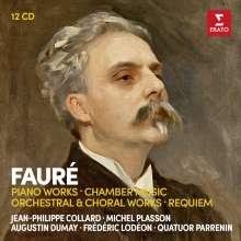 Gabriel Faure (1845-1924): Faure Edition (Erato), 12 CDs