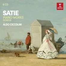 Erik Satie (1866-1925): Das Klavierwerk, 5 CDs