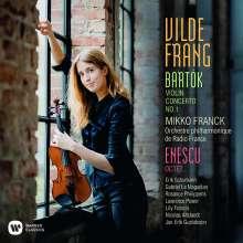 Vilde Frang spielt Bartok & Enescu, CD