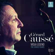 Gerard Causse - Viola Legend (Erato Years), 13 CDs