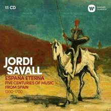 Jordi Savall - Espana Eterna (5 Centuries of Music from Spain), 11 CDs