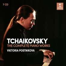 Peter Iljitsch Tschaikowsky (1840-1893): Das Gesamtwerk für Klavier, 7 CDs