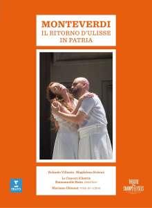 Claudio Monteverdi (1567-1643): Il ritorno d'Ulisse in patria, 2 DVDs