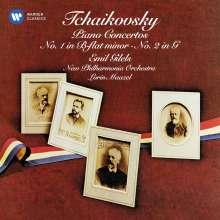Peter Iljitsch Tschaikowsky (1840-1893): Klavierkonzerte Nr.1 & 2, CD