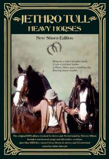 Jethro Tull: Heavy Horses (New-Shoes-Edition), 3 CDs, 1 DVD-Audio und 1 DVD