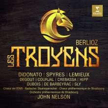 Hector Berlioz (1803-1869): Les Troyens (ungekürzte Originalfassung), 4 CDs und 1 DVD