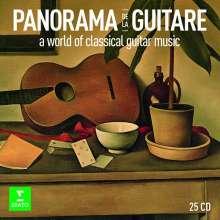 Panorama de la Guitare - A World of Classical Guitar Music, 25 CDs