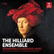 Hilliard Ensemble - Renaissance and Baroque Music, 7 CDs
