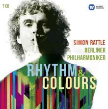 Simon Rattle - Rhythm & Colours, 7 CDs