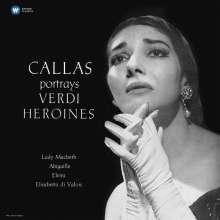 Maria Callas portrays Verdi-Heroines (180g), LP