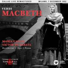 Giuseppe Verdi (1813-1901): Macbeth (Remastered Live Recording Mailand 07.12.1952), 2 CDs