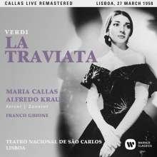 Giuseppe Verdi (1813-1901): La Traviata (Remastered Live Recording Lissabon 27.03.1958), 2 CDs