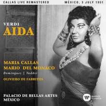 Giuseppe Verdi (1813-1901): Aida (Remastered Live Recording Mexico 03.07.1951), 2 CDs