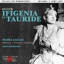Christoph Willibald Gluck (1714-1787): Iphigenie auf Tauris (Remastered Live Recording Mailand 01.06.1957), 2 CDs