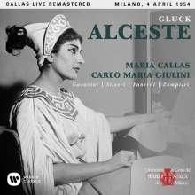 Christoph Willibald Gluck (1714-1787): Alceste (ital.Fassung) (Remastered Live Recording Mailand 04.04.1954), 2 CDs