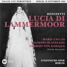 Gaetano Donizetti (1797-1848): Lucia di Lammermoor (Remastered Live Recording Berlin 29.09.1955), CD