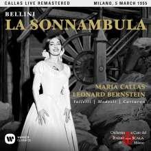 Vincenzo Bellini (1801-1835): La Sonnambula (Remastered Live Recording Mailand 05.03.1955), 2 CDs